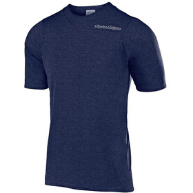 Troy Lee Designs Skyline Kurzarm Trikot heather navy